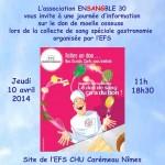 Journée de sensibilisation EFS Nîmes